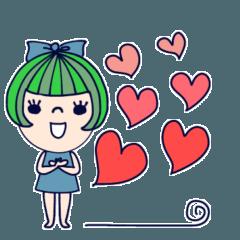 [LINEスタンプ] mottoのふんわりガール☆毎日