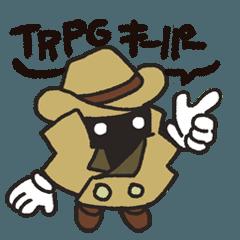 [LINEスタンプ] TRPGゲーム_キーパー用スタンプ