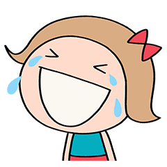 [LINEスタンプ] 笑顔いっぱい☆リボンのマルン