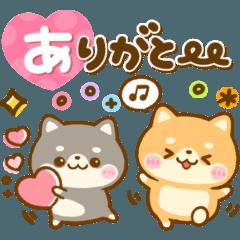 [LINEスタンプ] 大人かわいい♡豆柴日和