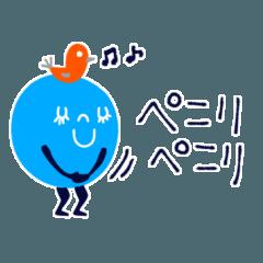 [LINEスタンプ] mottoのカラフルチョコボールS♡