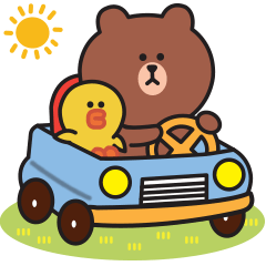 [LINEスタンプ] 優しい日常♪BROWN & FRIENDS