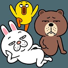 [LINEスタンプ] セイコウ×BROWN & FRIENDS