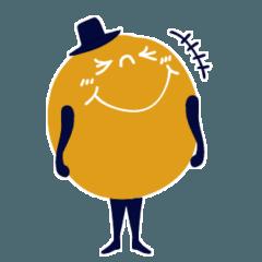 [LINEスタンプ] カラフルチョコボール『LINEスタンプの日』