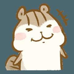 [LINEスタンプ] シマリスのリスたむ ~LINEスタンプの日~