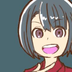 [LINEスタンプ] お得!青森・津軽弁スタンプ!(女子編)
