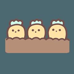 [LINEスタンプ] にんじん の すたんぷ