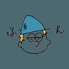[LINEスタンプ] ニット帽のあの子